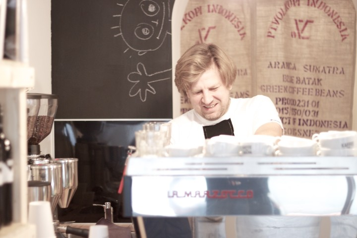 Kaffee von Sascha.